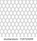 abstract seamless vector... | Shutterstock .eps vector #719719399