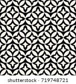 abstract pattern in arabian... | Shutterstock .eps vector #719748721