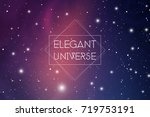 astrology design template with... | Shutterstock .eps vector #719753191