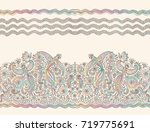 vector seamless pattern in... | Shutterstock .eps vector #719775691
