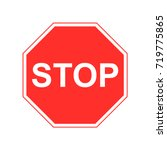 road sign  stop sign vector