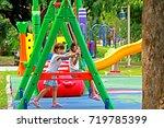 nonthaburi june 4   on the... | Shutterstock . vector #719785399