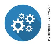 flat white process web icon... | Shutterstock . vector #719796079