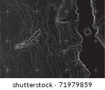 map of earth | Shutterstock .eps vector #71979859