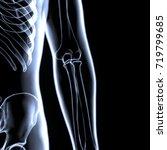 3d illustration of human body... | Shutterstock . vector #719799685