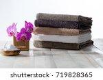 natural  safe housekeeping ... | Shutterstock . vector #719828365