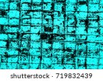 color grunge turquoise... | Shutterstock . vector #719832439