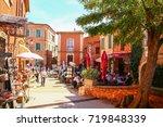 roussillon  provence  france ...   Shutterstock . vector #719848339