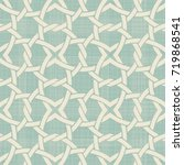 seamless abstract pattern in... | Shutterstock .eps vector #719868541