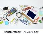 back to school concept | Shutterstock . vector #719871529
