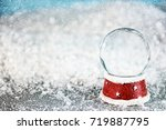 holiday christmas background... | Shutterstock . vector #719887795