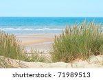Sand Beach Of Formby Near...