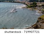 view of the city of corfu ... | Shutterstock . vector #719907721