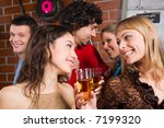 happy women gazing on the each... | Shutterstock . vector #7199320