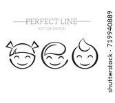 vector logo kids | Shutterstock .eps vector #719940889