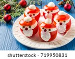 idea for christmas party  funny ... | Shutterstock . vector #719950831