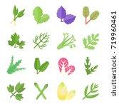 set vector illustration of... | Shutterstock .eps vector #719960461