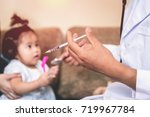 asian doctors are checking... | Shutterstock . vector #719967784