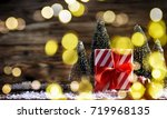 christmas holiday background   Shutterstock . vector #719968135