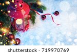 christmas and new year s...   Shutterstock . vector #719970769
