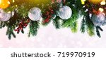 christmas and new year s...   Shutterstock . vector #719970919