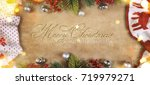 christmas and new year s...   Shutterstock . vector #719979271