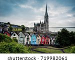 cobh cathedral | Shutterstock . vector #719982061