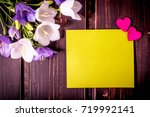 blank green card with copy...   Shutterstock . vector #719992141