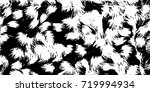 abstract black and white... | Shutterstock . vector #719994934