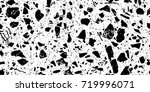 abstract black and white... | Shutterstock . vector #719996071