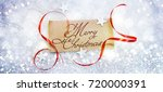 christmas and new year s...   Shutterstock . vector #720000391