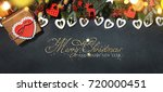christmas holiday background    Shutterstock . vector #720000451