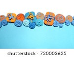 plasticine abstraction. boxes... | Shutterstock . vector #720003625