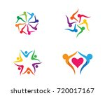adoption and community care... | Shutterstock .eps vector #720017167