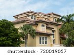 typical south florida modern... | Shutterstock . vector #720019057