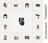 set of 13 editable game icons....