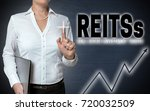 reits touchscreen is shown by... | Shutterstock . vector #720032509