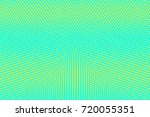blue and yellow dotted halftone ... | Shutterstock .eps vector #720055351