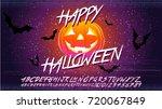 happy halloween typographical...