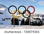 whistler  british columbia ... | Shutterstock . vector #720075301