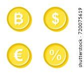 vector illustration of gold... | Shutterstock .eps vector #720075619