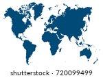 world map vector | Shutterstock .eps vector #720099499