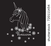 Head Magic Cute Unicorn ....