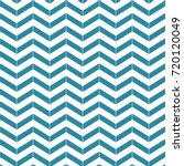 blue and white chevron pattern | Shutterstock .eps vector #720120049