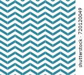 blue and white chevron pattern | Shutterstock .eps vector #720120049