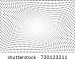 abstract halftone wave dotted... | Shutterstock .eps vector #720123211