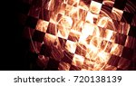 abstraction with splashes of... | Shutterstock . vector #720138139