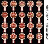 sale badge. luxury sale badges. ...   Shutterstock .eps vector #720146389