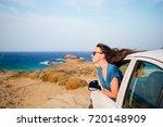 family on vacation. summer... | Shutterstock . vector #720148909