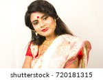 indian bengali female model in... | Shutterstock . vector #720181315